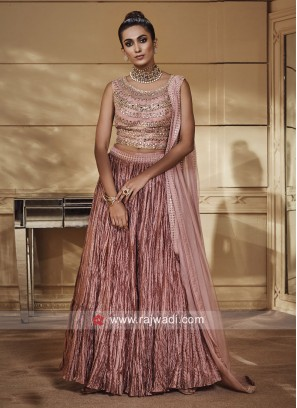 Silk Embroidered Lehenga Choli