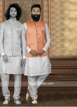 Attractive Nehru Jacket For Wedding
