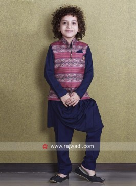 Charming Cotton Silk Nehru Jacket