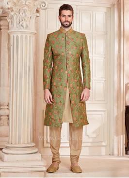 Silk Fabric Indo Western