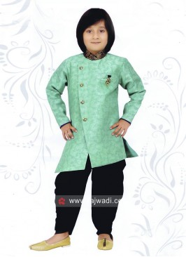Silk Fabric Indo Western For Kids