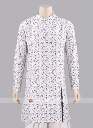 Silk Fabric Kurta For Mens