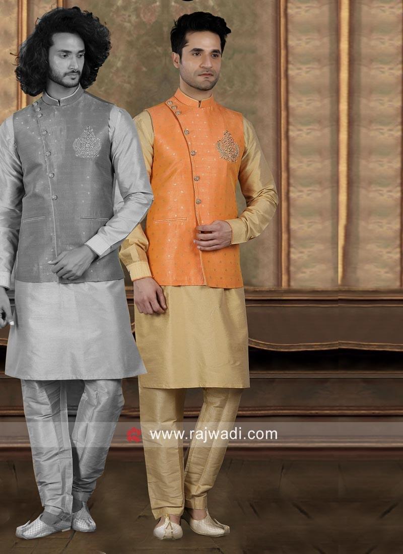 Stylish Nehru Jacket For Wedding
