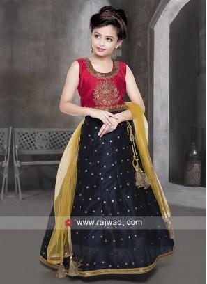 Silk Zari Work Lehenga Choli