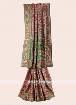 Silk Gujarati Gharchola for Bride