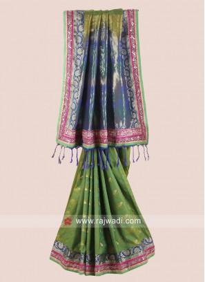 Silk Heavy Wedding Saree