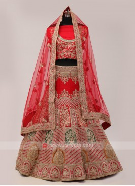 Silk Lehenga Choli