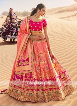 Silk Lehenga Choli For Wedding