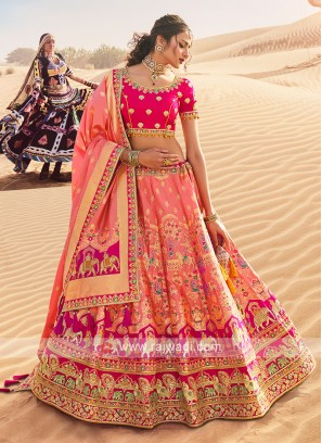Silk Lehenga Choli For Wedding