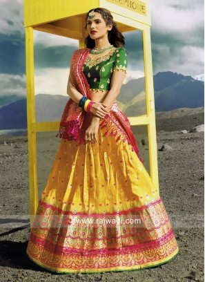 Silk Lehenga Choli with Dupatta