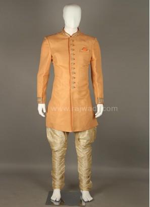 Silk Long Sleeve Indo Western