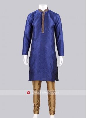 Silk Mens Kurta Pajama
