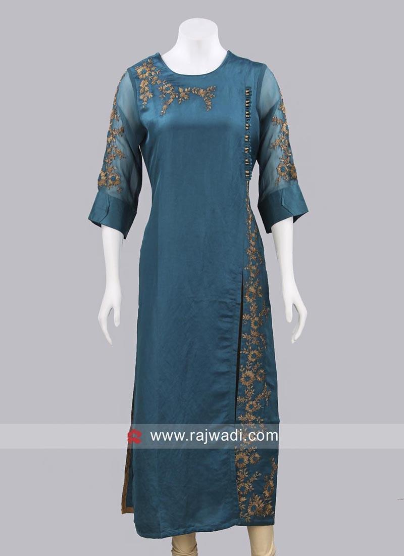 Silk Readymade Kurti