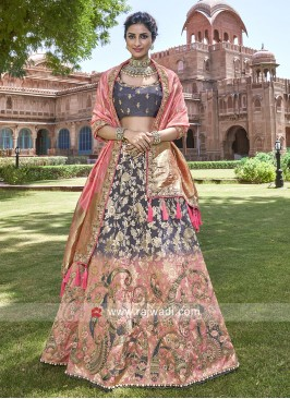 Silk Shaded Heavy Lehenga Choli