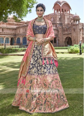 Silk Shaded Heavy Lehenga Choli