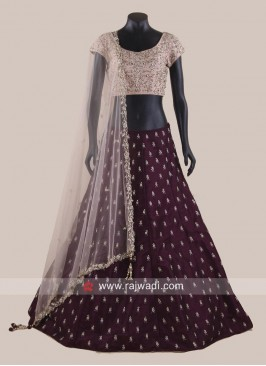 Silk Traditional Lehenga Choli