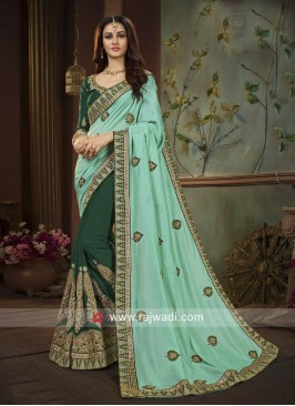 Silk Wedding Half Saree