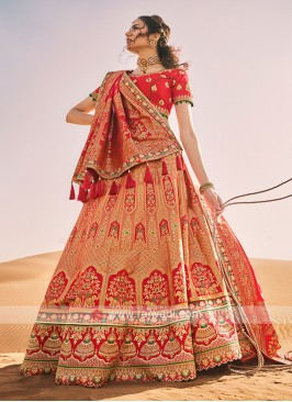 Silk Wedding Lehenga Choli