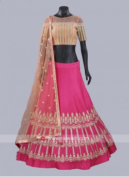 Silk Wedding Lehenga Set