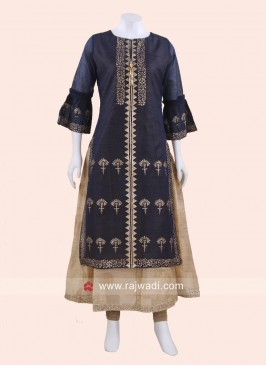 Silk Wedding Long Kurti