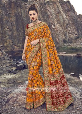 Silk Wedding Patola Saree