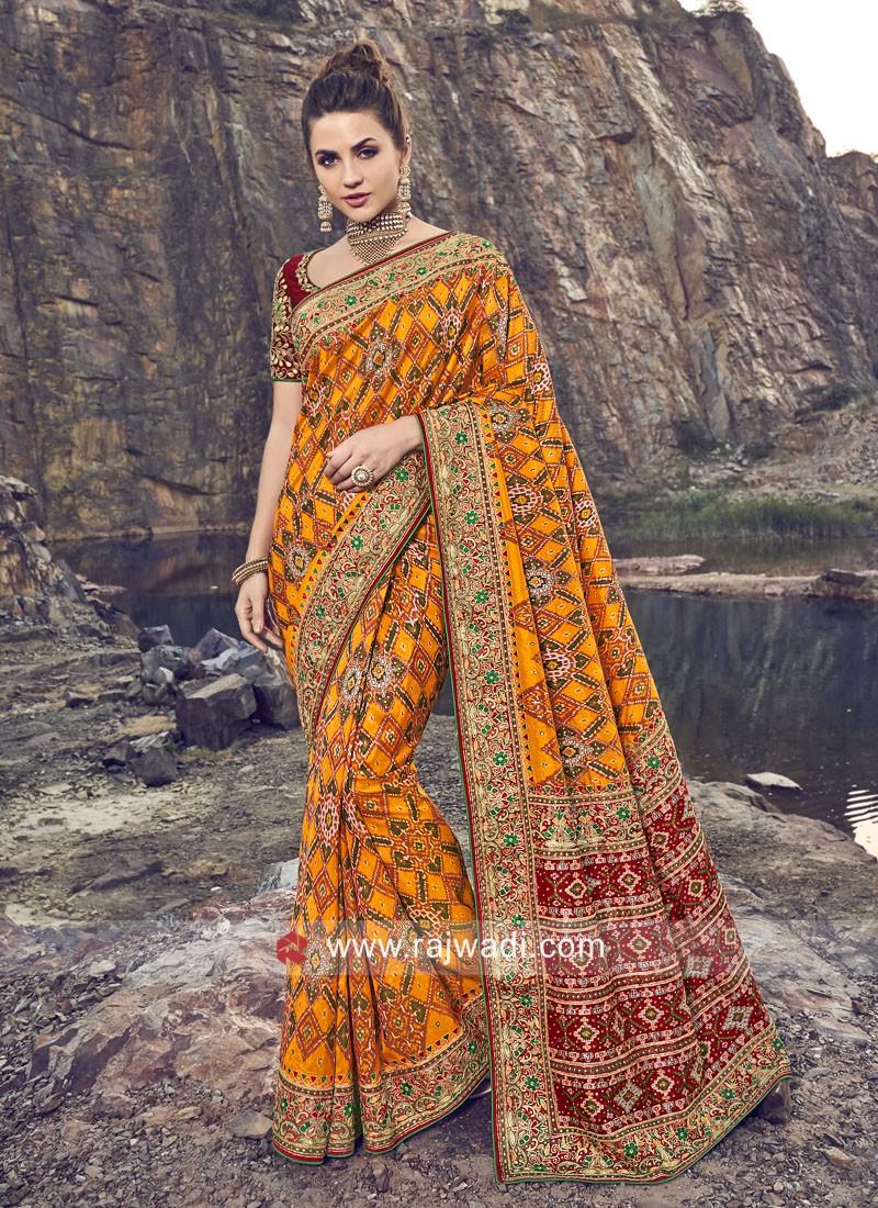 Silk Wedding Patola Saree