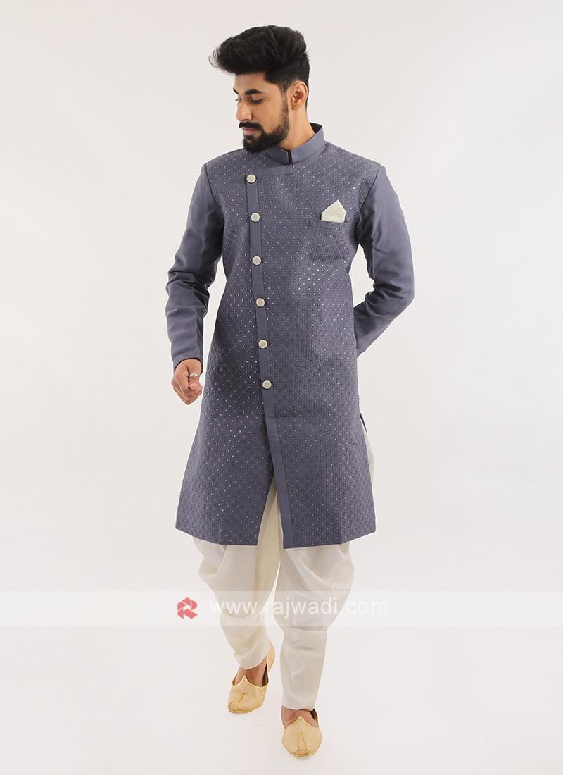 Silk Wedding Wear Indo western