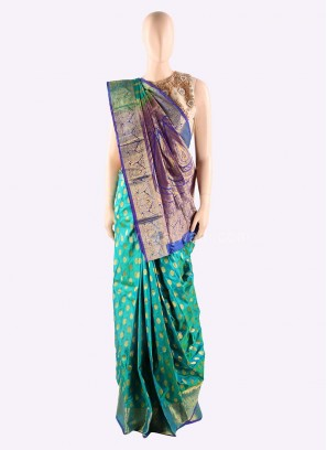 Silk Zari Weaved Saree