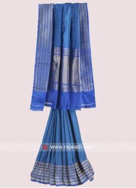 Silk Zari Weaving Saree