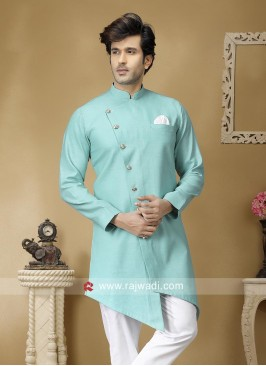 Sky Blue Color Kurta