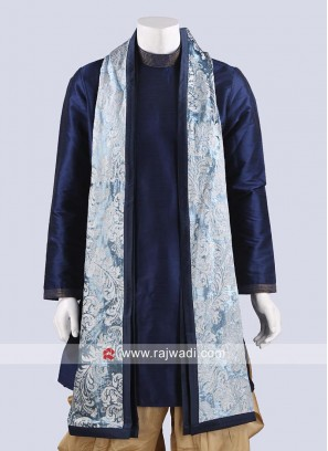 Sky Blue Color Mens Dupatta