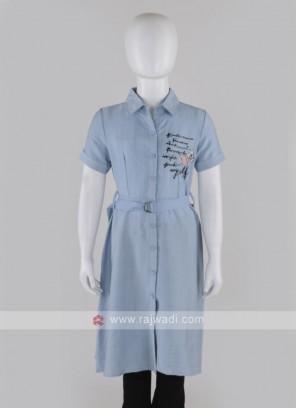 Sky Blue color tunic