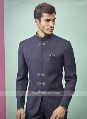 Blue Color Jodhpuri Suit