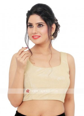Sleeveless Golden Ready Blouse