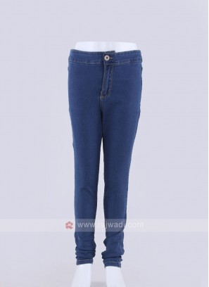 soabr girls dark blue jeans
