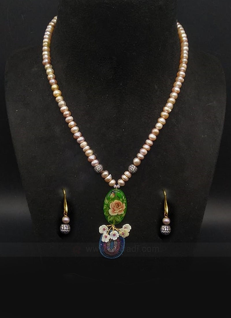 Sobar Pearls Necklace Set