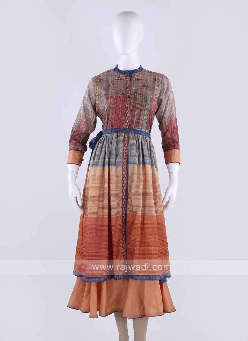 Soft cotton kurti in multi color