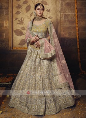 Soft Net Gota Silk Lehenga Choli