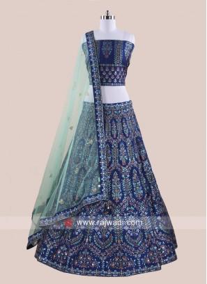 Soft Silk Embroidered Lehenga Choli