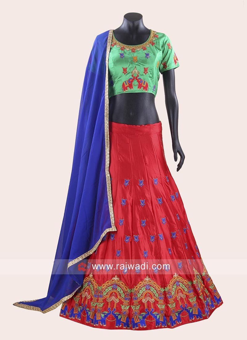 Soft Silk Fabric Chaniya Choli
