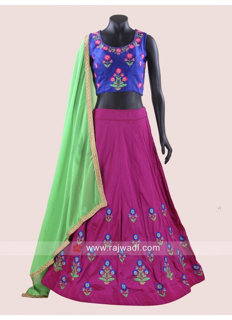 Soft Silk Fabric Chaniya Choli