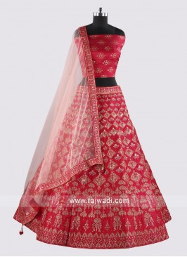 Soft Silk Heavy Embroidery Lehenga Choli
