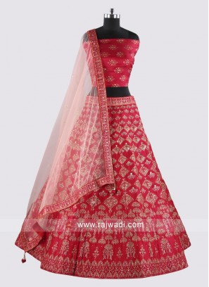 Soft Silk Heavy Embroidery Lehenga Choli
