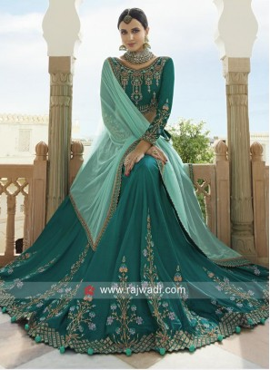 Soft Silk Heavy Work Lehenga