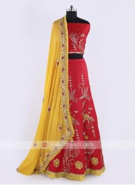 Soft Silk Lehenga Choli