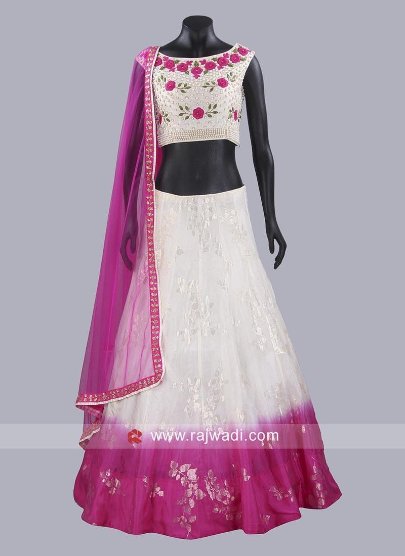 Soft Silk Wedding Lehenga Choli