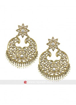 Sparkle Chandbali Earrings