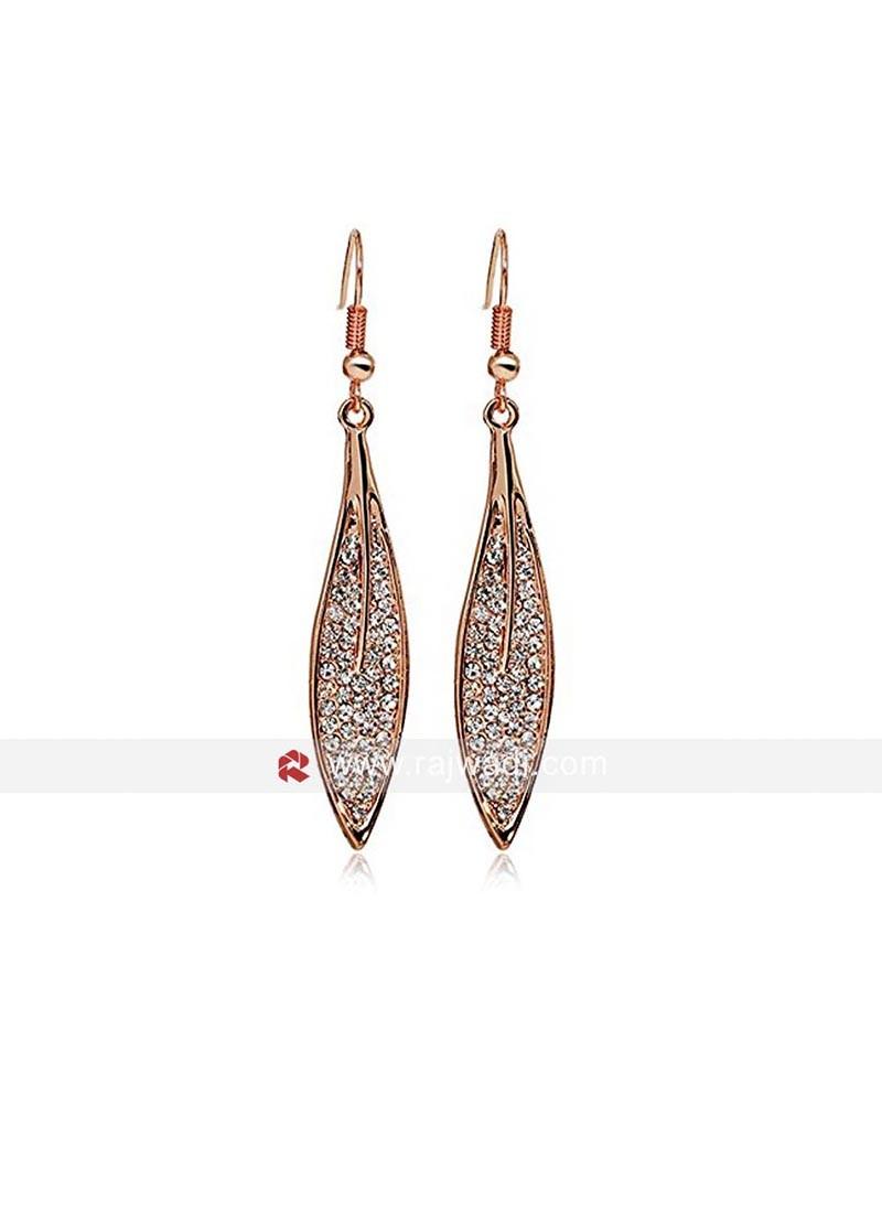 Sparkling Leaves Earrings