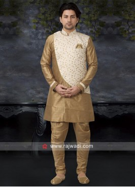 Golden Color Indo Western