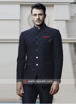 Navy Color Jodhpuri Set